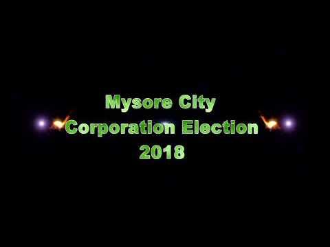 Mysore city corporation election 2018