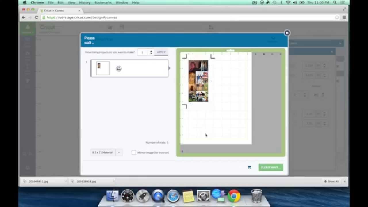 Cricut Explore How To Use Cricut Printable Vinyl Youtube