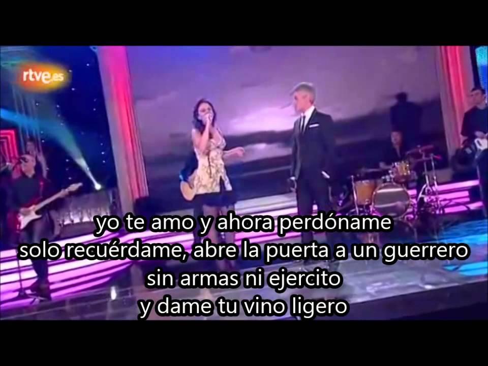 Sergio Dalma - La cosa mas bella (feat. Leire de La Oreja ...