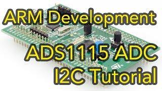 Arm Development #2 - STM32 Cortex-M0 I2C Tutorial using ADS1115 Analog to Digital IC - Keil & CubeMX