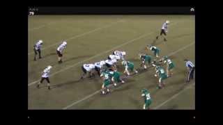 Oliver Michaud Freshman Year - Wando Football