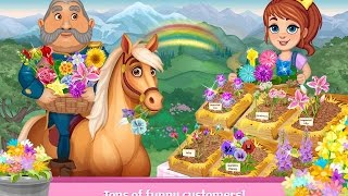 Flower Shop: Plant & grow the PRETTIEST flower garden - Android Games for Childrens