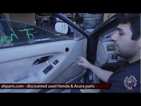 install replace front power window regulator hon doovi