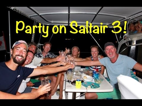 SE2 EP33. Party on Saltair3 -  Sailing the Caribbean - Guadalupe to Dominica