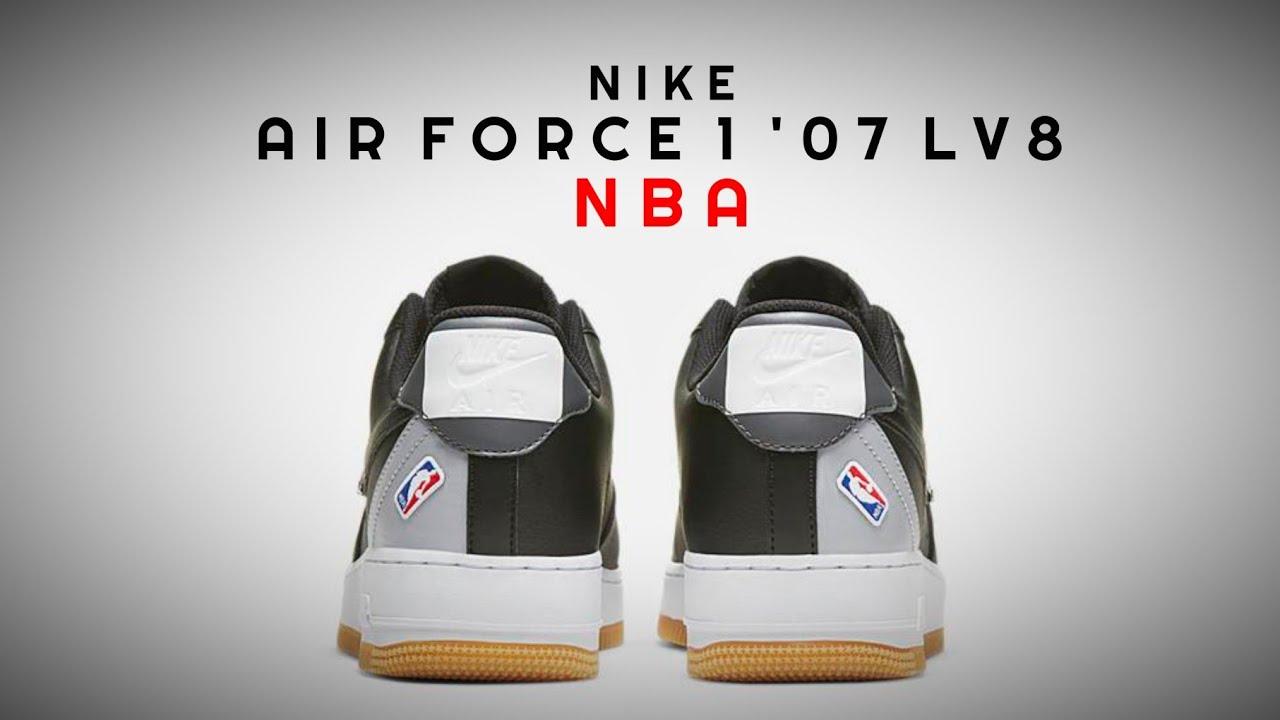 air force 1 nba nere