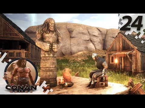 CONAN EXILES: THE FROZEN NORTH - Obstacles... - EP24