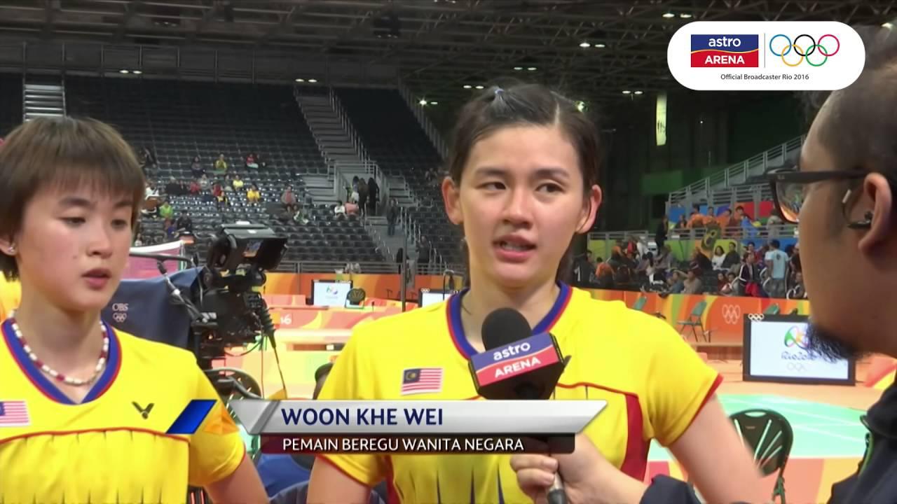 Reax Vivian Hoo Woon Khe Wei Badminton Women s Doubles