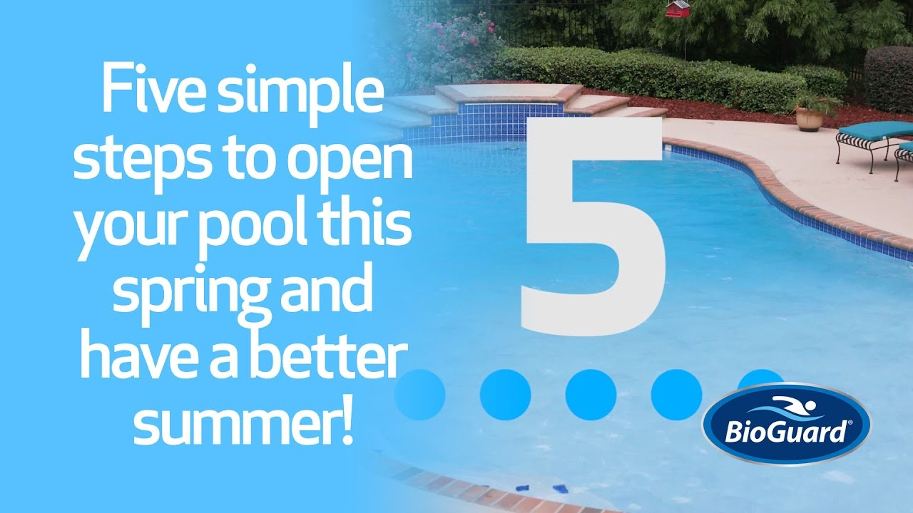 5 Easy Steps To Open Your Pool For Summer Youtube