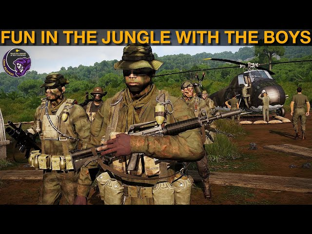 Fun In The Vietnam Jungle With The Boys | Arma 3