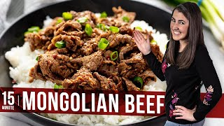 How To Make Easy 15 Minute Mongolian Beef