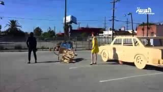 سيارة أوبرالية تجوب شوارع لوس أنجليس