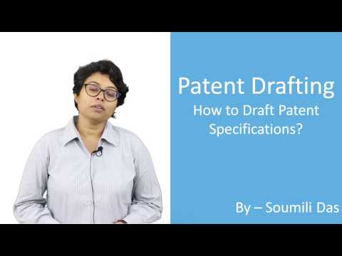 Lecture on Patent Drafting