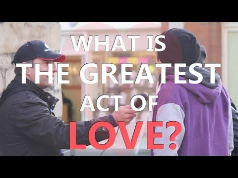 What is the Greatest Act of Love? poster
