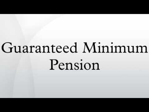 Guaranteed Minimum Pension