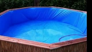 видео Как построить бассейн на даче своими руками