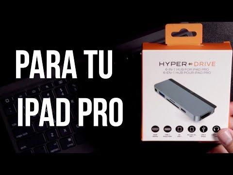 HYPER Drive USB Type-C Hub PARA= IPad Pro 2018