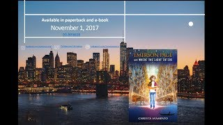 Book trailer for Emerson Page and Where the Light Enters