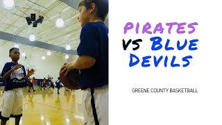 🏀 Pirates vs Blue Devils | Game 2 Highlights | Greene County Basketball