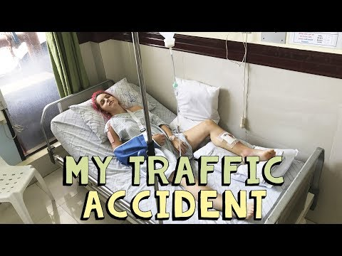 My traffic accident in the Philippines  VLOG