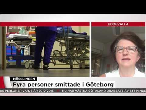 Mässlingutbrott i Västsverige  - Nyheterna (TV4)