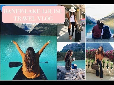 TRAVEL VLOG: Banff / Lake Louise || Emily Gemma via The Sweetest Thing