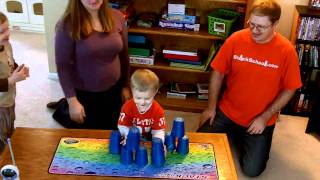 Sport Stacking: Family relay