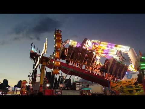 [Fun Fair] KMG Spin Out and Banzai Calgary Stampede Midway 2017