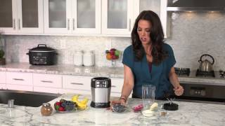 Rachel Beller And Ninja® Kitchen - Very Berry Smoothie Recipe Using Nutri Ninja® With Auto-iq™