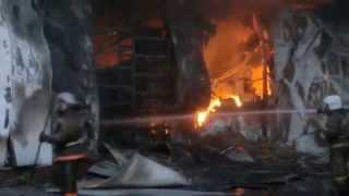 Пожар в Кэмпе/Симферопольское шоссе/пожар в Подольске(вечером съехались все пожарные в округе очень много полицейских,пробка на дороге,весь день пожарные пытали..., 2014-05-16T10:56:09.000Z)