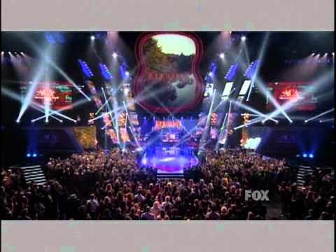 Alabama Performs on the ACA Awards 2011