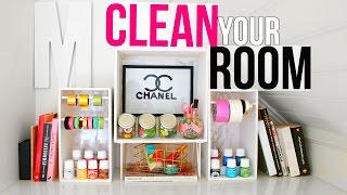 CLEAN YOUR ROOM  | 7 New DIY Organizations + Tips & Hacks! thumbnail