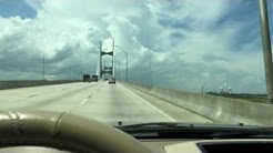 ME CROSSING THE JACKSONVILLE, FLORIDA DAMES POINT BRIDGE & SEEING A DAMN NUCLEAR PLANT ON I-95.