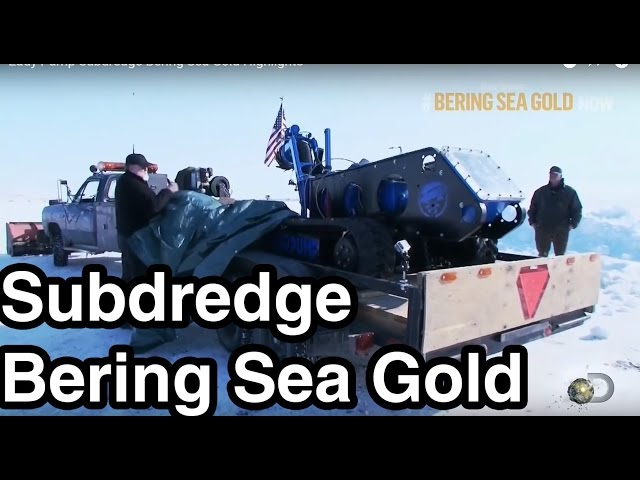 EDDY Pump Subdredge (Goldenes Seepferdchen) - Bering Sea Gold Highlights