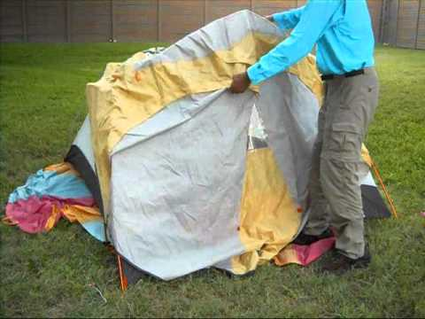 Ten Minute Tent REI Hoodoo 3 Backpacking Tent Pitch 1614 & Ten Minute Tent: REI Hoodoo 3 Backpacking Tent Pitch 1614 - YouTube