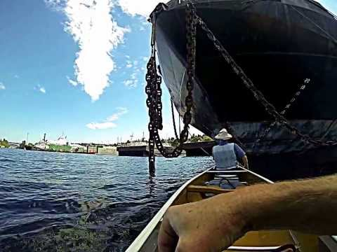 Paddling the Seattle ship canal