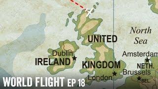FLYING TO MY HOMELAND! - World Flight Episode 18