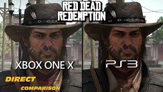 Red Dead Redemption - XboxOneX vs PS3 | Direct Comparison