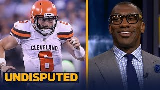 Eric Dickerson and Skip disagree with Shannon about the Browns QB spot   NFL   UNDISPUTED