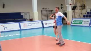 Тренировки по волейболу в Красноярске. RUSVolley