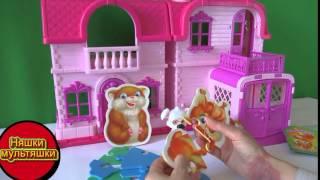 Озорная Семейка Виды Лесных животных пазлы  мультик из игрушек смотреть