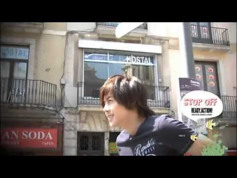 Kim Hyun Joong: Spain Photos - Ready, Action! Disc 1 (2010.10.29)