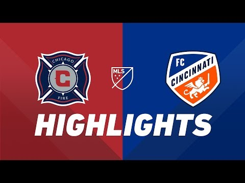 c292d5329 Watch: HIGHLIGHTS: Chicago Fire vs. FC Cincinnati | July 13, 2019 | Chicago  Fire - SportsOverdose