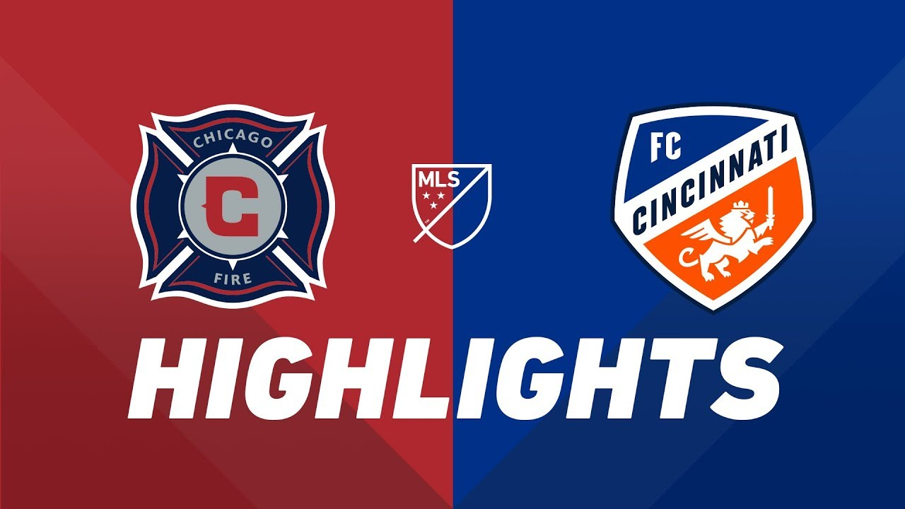 76b01958c Watch: Chicago Fire vs. FC Cincinnati | HIGHLIGHTS - July 13, 2019 | Chicago  Fire - SportsOverdose