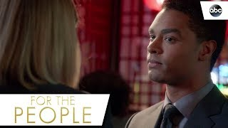 Leonard Tells Kate He's Leaving - For The People