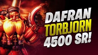 Dafran 4500 SR Torbjorn Game! - Overwatch