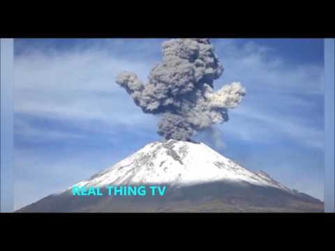 Mexico's El Popo volcano EXPLODES