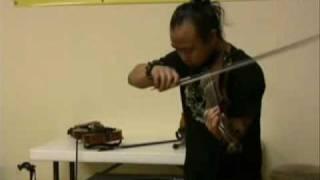 Heavy Metal violin