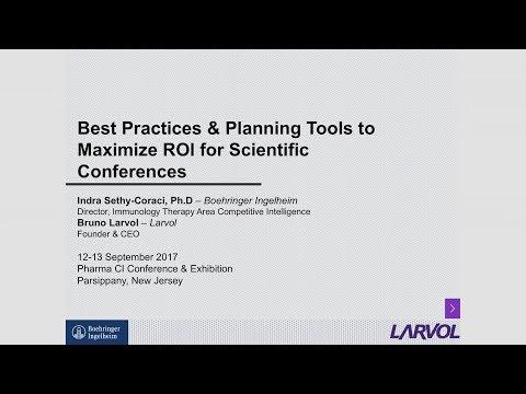 Larvol Conference Planners | Pharma CI Fall 2017 Presentation