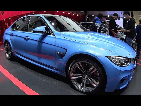 New BMW M3 2016, 2017, interior, exterior video BMW 3 series 2016, 2017