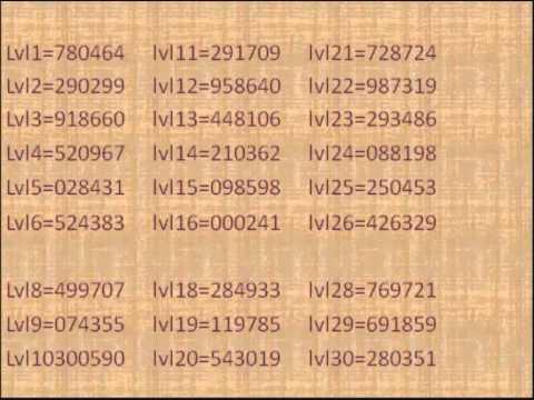 bloxorz codes - YouTube